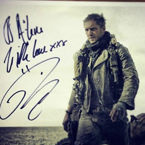 Tom Hardy es Mad Max