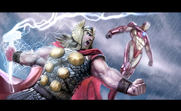 thor y iron man spoilers