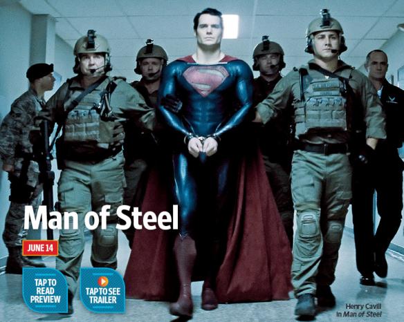 nueva imagen de MAN OF STEEL